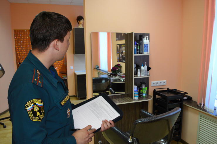 инструкция по пожарной безопасности в парикмахерской - фото 11