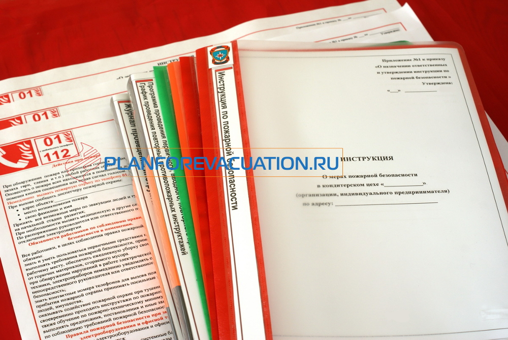 Инструкция и документы по пожарной безопасности 2020 года в кондитерском цехе