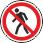 Пожарная безопасность: Проход запрещен У входа в опасные зоны, помещения, участки и др.