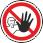 Пожарная безопасность: Доступ посторонним запрещен На дверях помещений, у входа на объекты, участки и т.п., для обозначения запрета на вход (проход) в опасные зоны или для обозначения служебного входа (прохода)