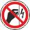Пожарная безопасность: Запрещается прикасаться. Корпус под напряжением На поверхности корпусов, щитов и т.п., где есть возможность поражения электрическим током