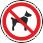 Запрещается вход (проход) с животными На воротах и дверях зданий, сооружений, помещений, объектов, территорий и т.п., где не должны находиться животные, где запрещен вход (проход) вместе с животными
